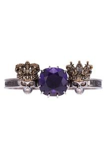 Кольцо с кристаллом Alexander Mc Queen