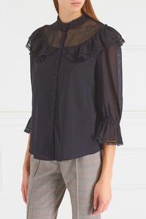 Хлопковая блузка Vilshenko
