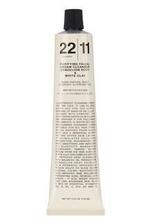 Очищающая крем-маска для лица 2 в 1 Корень одуванчика & Белая глина, 65 ml 22/11
