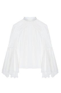 Шелковая блузка Alice + Olivia