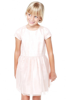 Полуприталенное легкое платье Mango Kids