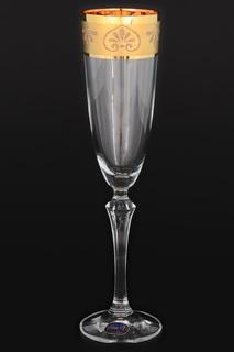 Фужеры для шампанского, 6 шт BOHEMIA CRYSTAL