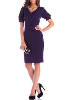 Прилегающее платье с V-образным вырезом Laura Bettini