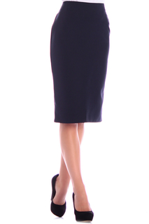 Прилегающая юбка до колен MAURINI