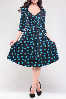 Платье классического й А-силуэта с рукавами 3/4 MAURINI