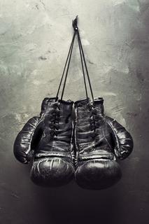 """Холст """"Боксерские перчатки"""" Ecoramka"""
