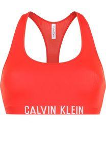 Бра с логотипом бренда Calvin Klein Underwear