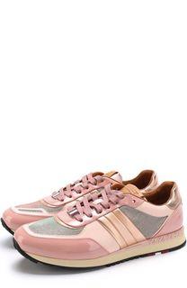 Комбинированные кроссовки Asyia на шнуровке Bally