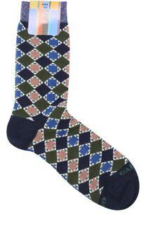 Хлопковые носки с принтом Gallo