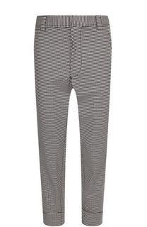 Шерстяные брюки прямого кроя Haider Ackermann