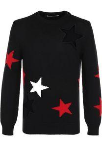 Шерстяной свитер с отделкой Givenchy