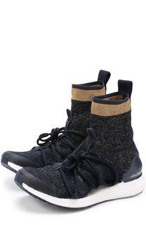 Высокие текстильные кроссовки Ultra Boost Adidas by Stella McCartney