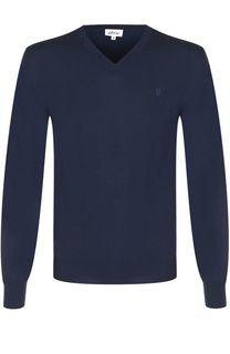 Пуловер из шерсти тонкой вязки Brioni