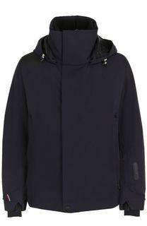 Утепленная куртка на молнии с капюшоном Moncler