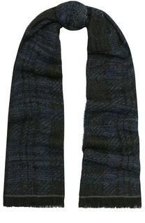 Шарф из смеси шерсти и вискозы с шелком Baldessarini