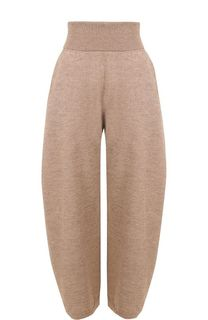 Шерстяные брюки с завышенной талией Stella McCartney