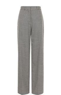 Расклешенные шерстяные брюки со стрелками Victoria Beckham