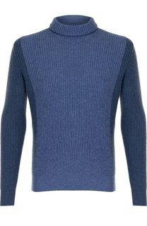 Кашемировый свитер с воротником-стойкой Loro Piana