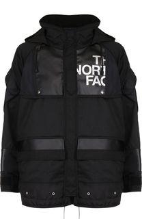 Утепленная куртка на молнии с капюшоном Junya Watanabe