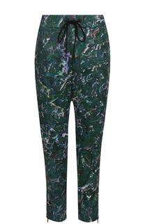 Укороченные брюки прямого кроя с принтом Y-3
