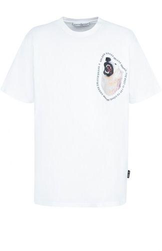 Хлопковая футболка с принтом Golden Goose Deluxe Brand