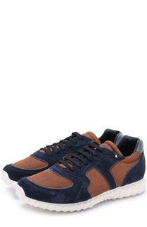 Комбинированные кроссовки Soul AM на шнуровке Valentino
