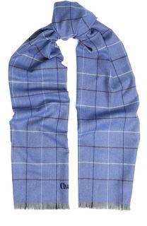 Шерстяной шарф с необработанным краем Churchs