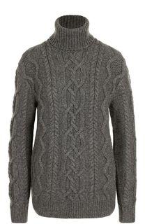 Кашемировый свитер фактурной вязки Ralph Lauren