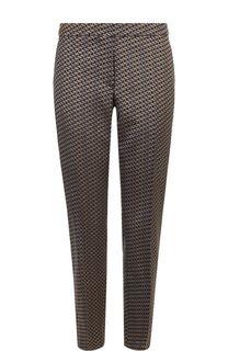 Укороченные брюки прямого кроя со стрелками Dries Van Noten
