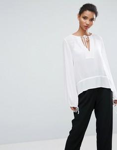 Блузка с завязкой Minimum Moves Olina - Белый