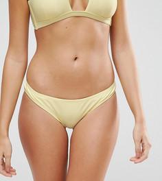 Комбинируемые пастельные плавки бикини South Beach - Желтый