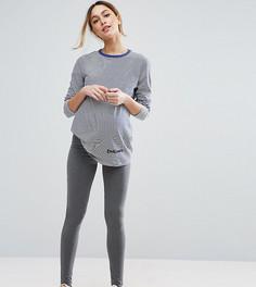 Леггинсы для беременных ASOS Maternity - Серый