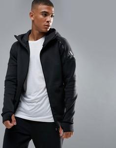 Худи черного цвета adidas Athletics ZNE 2 - Черный