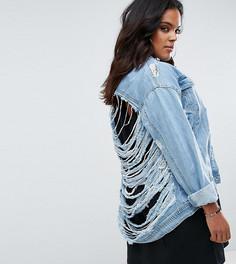 Джинсовая куртка Missguided Plus - Синий