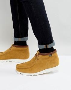 Замшевые ботинки Clarks Originals Wallabee GTX - Рыжий