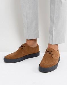 Замшевые туфли с подошвой с эффектом крепа Vagabond Luis - Рыжий