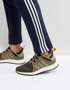 Зеленые кроссовки adidas Originals X_PLR BZ0670 - Зеленый