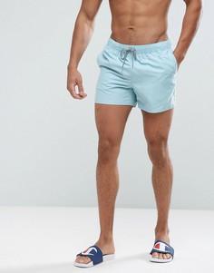 Синие шорты для плавания с контрастной отделкой ASOS - Синий