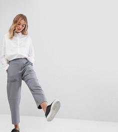 Широкие брюки Monki - Серый