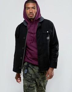 Куртка с вельветовым воротником Poler Hole Mole - Черный