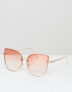 Солнцезащитные очки с затемненными стеклами ALDO Gazzada - Золотой