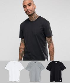 3 футболки adidas Skateboarding BR4939 - Мульти