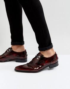 Красные туфли на шнуровке Jeffery West Scarface - Красный