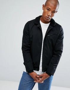 Куртка с воротником борг Troy - Черный