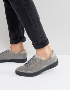 Замшевые теннисные кроссовки Fred Perry B1 Sports - Серый