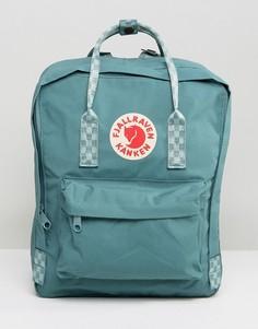 Рюкзак с контрастными ремешками Fjallarven Kanken - Зеленый Fjallraven