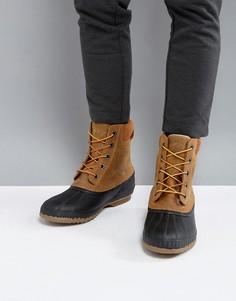 Коричневые водонепроницаемые ботинки Sorel Cheyanne - Коричневый