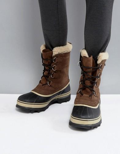 Водонепроницаемые ботинки Sorel Caribou - Коричневый