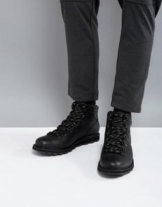 Черные водонепроницаемые походные ботинки Sorel Madson - Черный