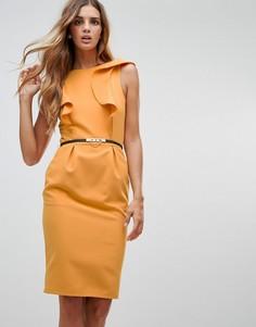 Платье Paper Dolls - Желтый